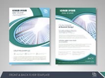 Business brochure annual report Stock Photography