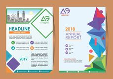 Business Brochure Background Design Template, Layout, Poster, Magazine, Annual Report, Book, Booklet with Building Image. Size. Vector Design illustration vector illustration