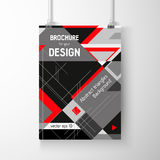 Business brochure background. Layer template , vector Royalty Free Stock Photo