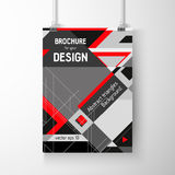 Business brochure background. Layer template , vector Stock Photography