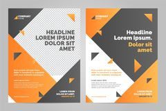 Layout template design stock illustration