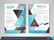 Business brochure cover design Stock Photos