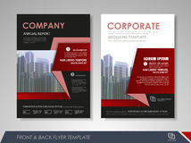 Business brochure cover design Royalty Free Stock Photography