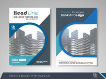 Business brochure cover design Royalty Free Stock Photos