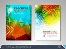 Business brochure design Stock Photography
