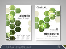 Business brochure design Royalty Free Stock Photo