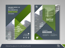 Business brochure design Stock Photography
