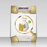 Business brochure flyer cover design layout template. Vector Royalty Free Stock Photo