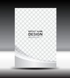 Business brochure flyer design layout template in A4 size. Green brochure template,cover design,Front page and back page,infographic Royalty Free Stock Photo