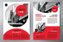 Business Brochure. Flyer Design. Leaflets a4 Template. Cover Boo vector illustration