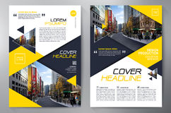 Business brochure flyer design a4 template. Stock Photos