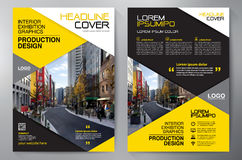 Business brochure flyer design a4 template. Business Brochure. Flyer Design. Leaflets a4 Template. Cover Book and Magazine. Annual Report Vector illustration vector illustration