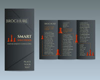 Business Brochure and flyer design template in Royalty Free Stock Photography
