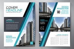 Business brochure flyer design a4 template. Stock Image