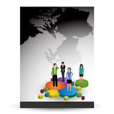 Business brochure,flyer,magazine cover or poster template Stock Photo