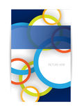 Business brochure,flyer,magazine cover or poster template Stock Image