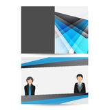 Business brochure,flyer,magazine cover or poster template Stock Photography