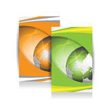 Business brochure,flyer,magazine cover or poster template Royalty Free Stock Photography