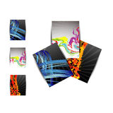 Business brochure,flyer,magazine cover or poster template Stock Images