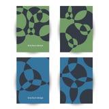 Business brochure, flyer template . Stock Photos