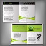 Business Brochure, Flyer Template Stock Photos