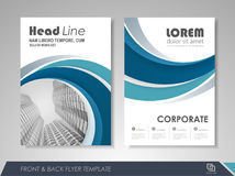 Business brochure Stock Photography