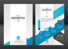 Business brochure template vector illustration