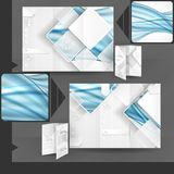 Business Brochure Template Design Stock Photo