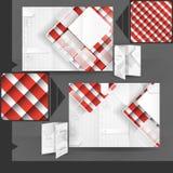 Business Brochure Template Design Stock Photography