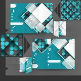 Business Brochure Template Design Stock Image