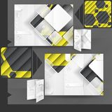 Business Brochure Template Design Royalty Free Stock Photo