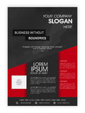Business Brochure, Template or Flyer design. Royalty Free Stock Photo