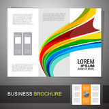 Business Brochure. Use any size Royalty Free Stock Photo