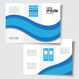 Business Brochure. Use any size Stock Photo