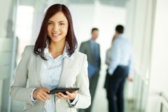 Business brunette Stock Photography