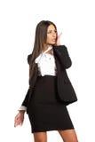Business brunette girl posing Royalty Free Stock Image