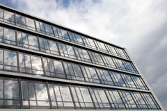 Business building. With glas windows and reflections Royalty Free Stock Photo