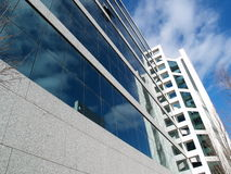 Business Building. Of concrete and glass Stock Images