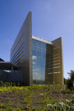 Business building 2. Modern business building with a blue sky Stock Photography