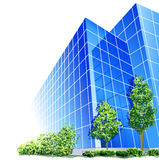 Business Building. An illustration of a business building Stock Photography