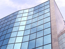 Business building. With glass windows Stock Image