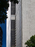 Business building in the financial district of Frankfurt, Germ Stock Photo