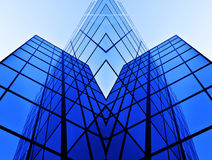 Business Building Glass Windows Geometry Architecture. Business building glass windows architecture Stock Images