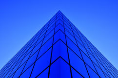 Business Building Glass Windows Geometry Architecture Royalty Free Stock Photo