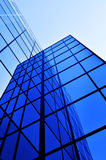 Business Building Glass Windows Geometry Architecture Royalty Free Stock Photography