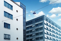 Business building and hotel Stock Photography