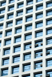 Business building open windows background Royalty Free Stock Images