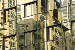 Business building reflection Royalty Free Stock Photos