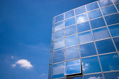 Business building reflections Stock Images