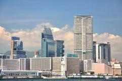Business building, West Kowloon seaside, Hongkong Royalty Free Stock Photos